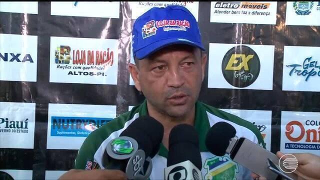 Técnico do Altos fala sobre jogo contra o Bahia na Arena Fonte Nova
