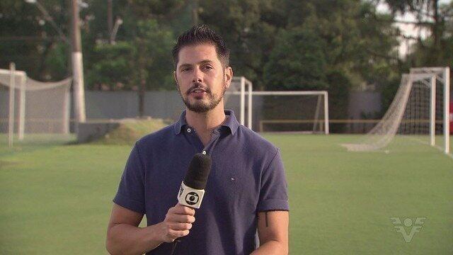 Santos treina para segunda partida das quartas de final do Paulista