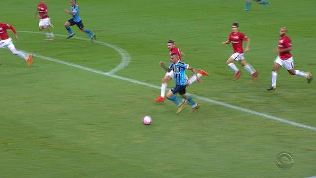 Confira os melhores momentos de Internacional 2x0 Grêmio pelo Gauchão