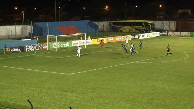 Confira os gols de Cianorte 1x4 Foz do Iguaçu, pela quinta rodada da Taça Caio Júnior