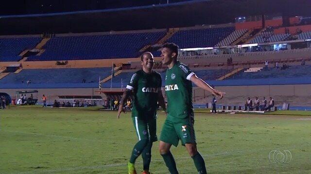Os gols de Goiás 4x0 Rio Verde pelo Goianão