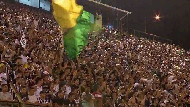 Em dia de festa da torcida, Tupi perde para Cruzeiro no primeiro jogo da semifinal