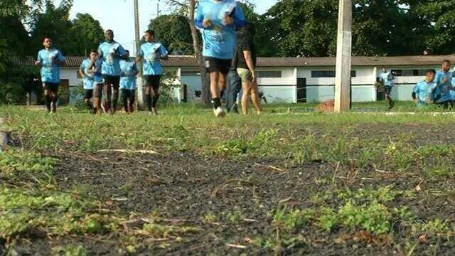 Sparta volta a treinar após perder para o Luverdense por 7 a 0
