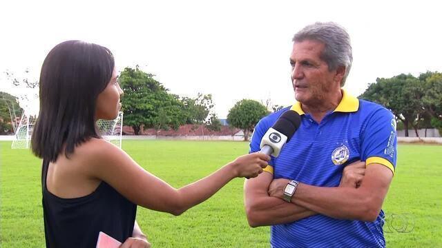 Roberto Olivera fala das expectativas de voltar a treinar o Interporto