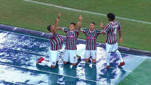 Os gols de Fluminense 1 x 1 Flamengo pela semifinal da Taça Rio