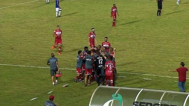 Em Aracaju, CRB empata com o Confiança por 1 a 1