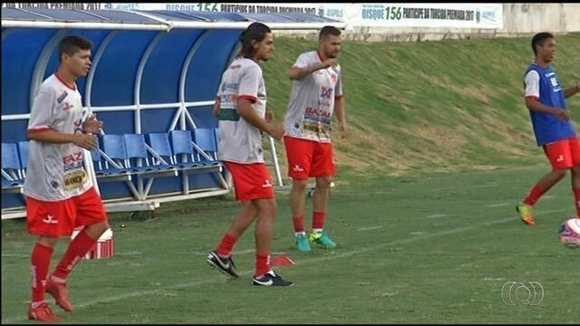 Anapolina quer aproveitar jogo em casa para largar na frente do Goiás