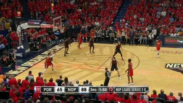 Melhores momentos de New Orleans Pelicans 119 x 102 Portland Trail Blazers pela NBA