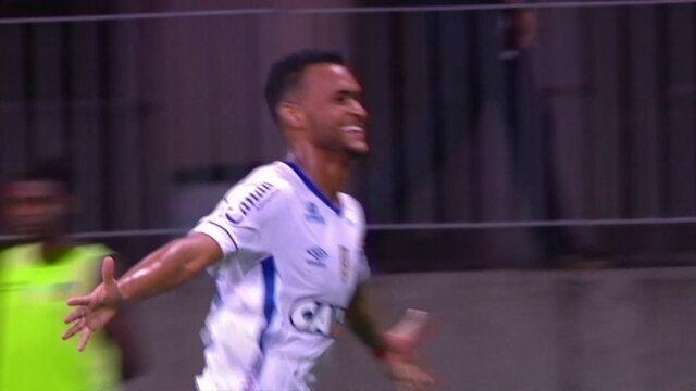 O gol de Bahia 1 x 0 Santos pela 2ª rodada do Brasileirão 2018