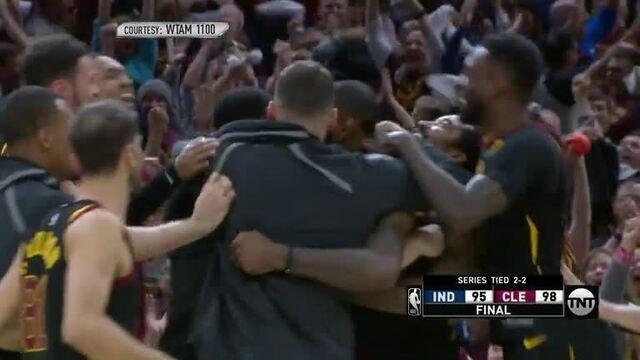 Melhores momentos de Cleveland Cavaliers 98 x 95 Indiana Pacers pela NBA