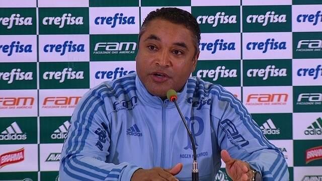 Veja trecho da entrevista de Roger Machado após vitória do Palmeiras sobre o Bahia