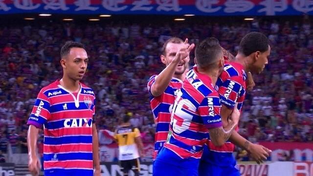 Os gols de Fortaleza 2 x 0 Criciúma pela 7ª rodada da série B do Brasileirão