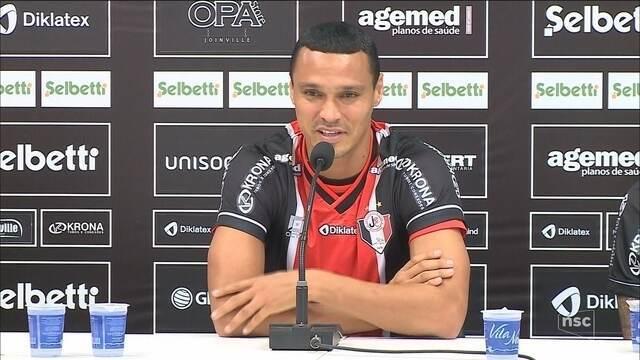 Limpa na zaga: depois de Emerson Silva, Bruno Aguiar deixa o Joinville