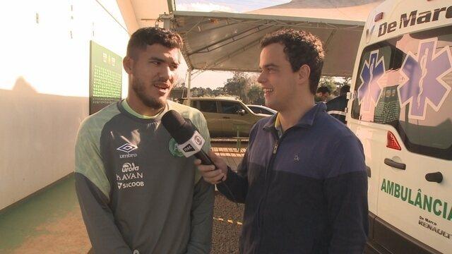 Bruno Silva comenta gol e pede confiança dos cartoleiros