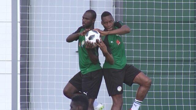 Senegal se prepara para encarar o Japão na segunda rodada da Copa do Mundo