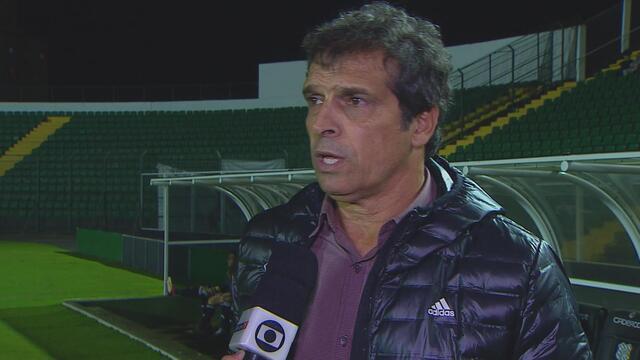 Milton Cruz comenta sobre possível saída de Lazaroni
