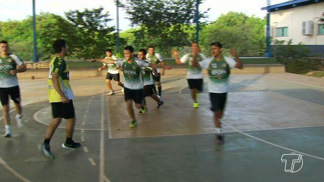 Chegam a Santarém atletas que representaram o município na Conferência Norte de Handebol
