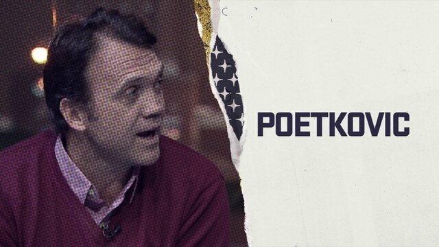 """Petkovic declama seu último poema da Copa do Mundo 2018 no quadro """"Poetkovic"""""""