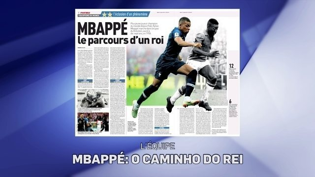 Jornal francês compara início de Mbappé com o de Pelé