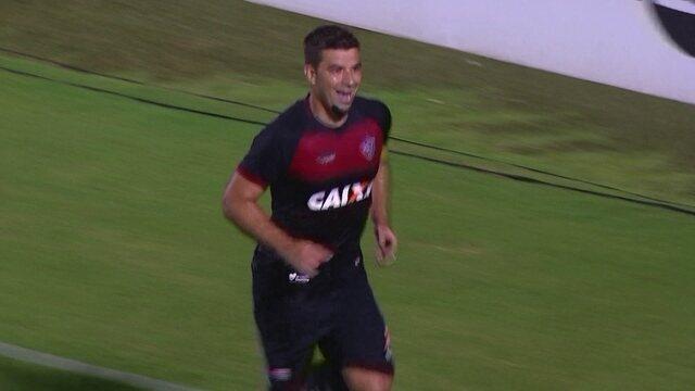 O gol de Vitória 1 x 0 Paraná pela 13ª rodada do Brasileirão 2018