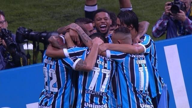 Os gols de Grêmio 2 x 0 Atlético-MG pela 13ª rodada do Brasileirão 2018