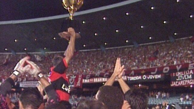 Baú do esporte relembra conquista do Campeonato Brasileiro de 1992 pelo Flamengo