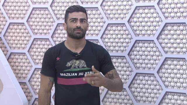 Lutador de jiu-jitsu, Magaiver fala no Bate-Papo GE sobre a vida entregue ao esporte