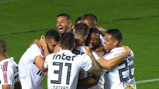 Os gols de São Paulo 2 x 0 Chapecoense pela 19ª rodada do Campeonato Brasileiro