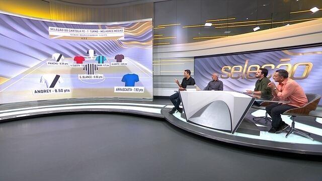 Seleção SporTV mostra a seleção do Cartola FC