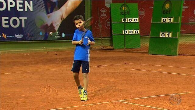 Open de tênis reunirá atletas brasileiros e estrangeiros em Sergipe