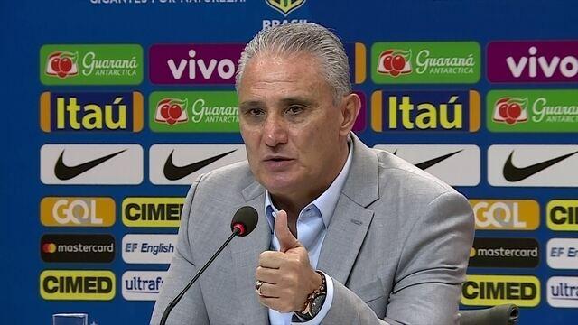 Tite fala sobre não poder convocar jogadores que estejam na Copa do Brasil e Libertadores