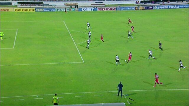 Os gols de CRB 1x1 Coritiba, pela 28ª rodada da Série B