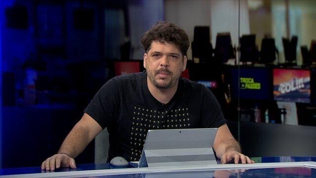 Achou que seria o Marcelo Barreto? Rogerinho do Ingá comanda abertura do Redação SporTV