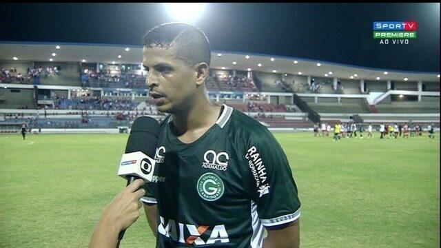 Lucão comenta derrota do Goiás para o CRB em Maceió