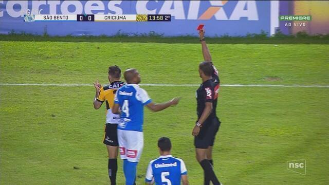 Criciúma fica no 0 a 0 contra o São Bento