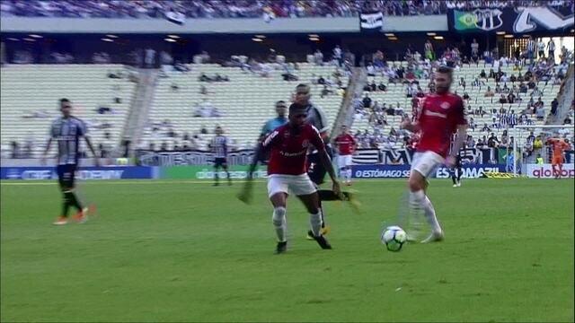 Melhores momentos de Ceará 1 x 1 Internacional pela 33ª rodada do Campeonato Brasileiro