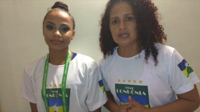 Ginasta Duda segue para próxima fase em Jogos Escolares da Juventude etapa nacional