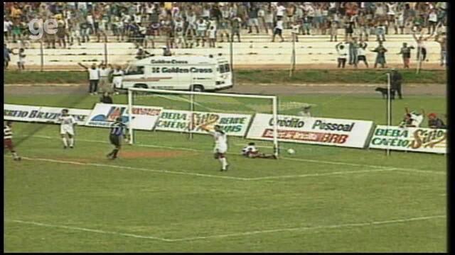 Os gols de Gama 1 x 0 Desportiva Ferroviária, pela Série B do Brasileiro 1998