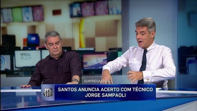 Tim Vickery comenta contratação de Sampaoli pelo Santos