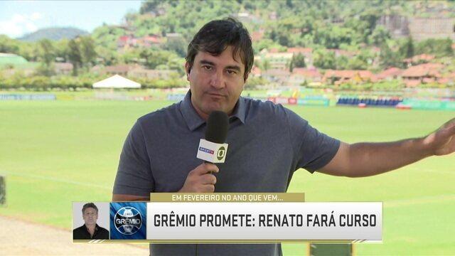 Grêmio promete que Renato Gaúcho fará curso da CBF em fevereiro de 2019