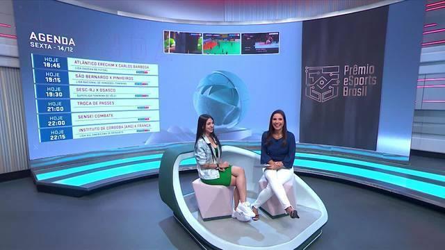 Nyvi Estephan fala sobre a expectativa de apresentar o Prêmio E-Sports Brasil