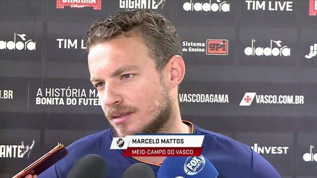 Há dois anos e meio parado, Marcelo Mattos diz que o objetivo é poder jogar uma partida