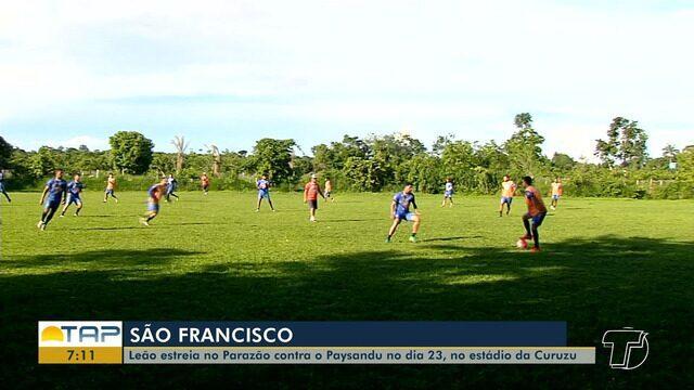 São Francisco dispensa alguns jogadores há poucos dias da estreia no Parazão
