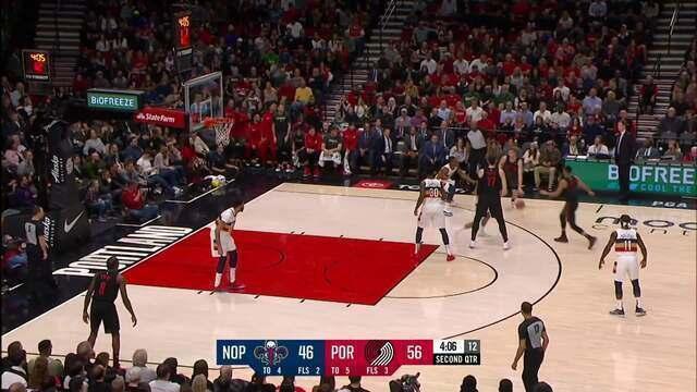 Melhores momentos: Portland Trail Blazers 128 x 112 New Orleans Pelicans