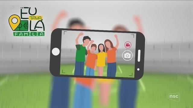 GloboEsporte.com lança quadro 'Eu Tava Lá Família' durante o Catarinense