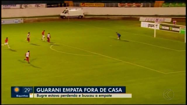Guarani-MG empata com Boa Esporte fora de casa