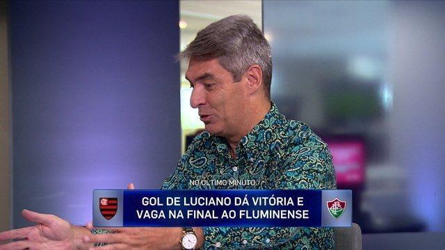 Tim Vickery comenta contra-ataque do Flamengo em partida contra o Fluminense pela semifinal da Taça Guanabara
