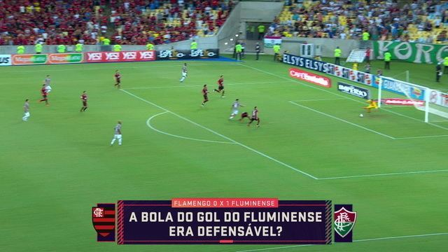 Seleção SporTV analisa se bola do gol do Fluminense era defensável