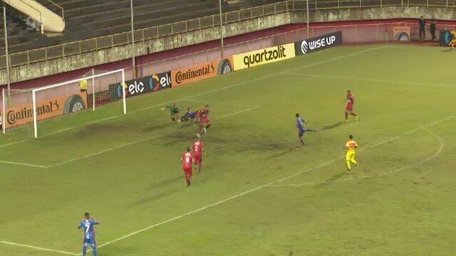 Renan Plácido desperdiça ótima oportunidade de gol na derrota do Plácido de Castro