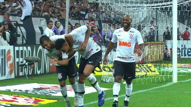 Os gols de Corinthians 2 x 1 São Paulo pelo Campeonato Paulista